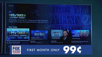FOX Nation TV Spot, 'America is Streaming: First Month 99 Cents' - Thumbnail 8