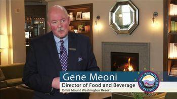 Omni Mount Washington Resort TV Spot, 'Dining Experiences'