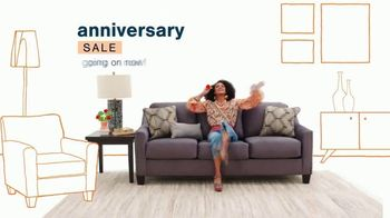 Ashley HomeStore Outlet Anniversary Sale TV Spot, 'Best Furniture at the Lowest Prices'