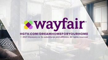 Wayfair TV Spot, 'DIY Network: Dream Home' - Thumbnail 4