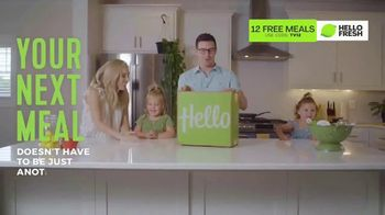 HelloFresh TV Spot, 'Here in This Moment: 12 Free Meals'