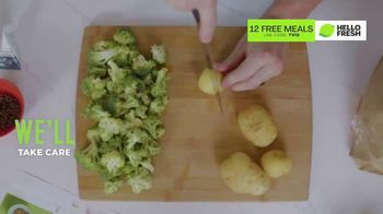 HelloFresh TV Spot, 'Here in This Moment: 12 Free Meals' - Thumbnail 4