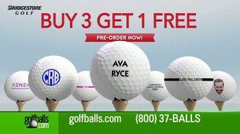 Golfballs.com TV Spot, 'Bridgestone Golfballs: Buy Three, Get One Free' Featuring Tiger Woods - Thumbnail 3