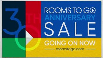 Rooms to Go 30th Anniversary Sale TV Spot, 'Five-Piece Bedroom Set: $999' Song by Junior Senior - Thumbnail 7