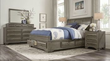 Rooms to Go 30th Anniversary Sale TV Spot, 'Five-Piece Bedroom Set: $999' Song by Junior Senior - Thumbnail 4