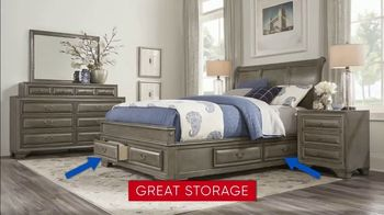 Rooms to Go 30th Anniversary Sale TV Spot, 'Five-Piece Bedroom Set: $999' Song by Junior Senior - Thumbnail 5