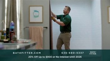Bath Fitter TV Spot, 'Fits Your Standards: 20% Off Up to $900'