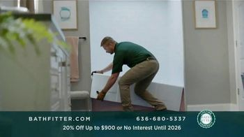Bath Fitter TV Spot, 'Fits Your Standards: 20% Off Up to $900' - Thumbnail 2
