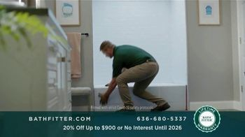 Bath Fitter TV Spot, 'Fits Your Standards: 20% Off Up to $900' - Thumbnail 3