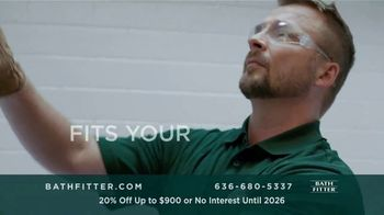 Bath Fitter TV Spot, 'Fits Your Standards: 20% Off Up to $900' - Thumbnail 5