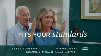 Bath Fitter TV Spot, 'Fits Your Standards: 20% Off Up to $900' - Thumbnail 6