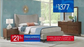 Rooms to Go Venta del 30 Aniversario TV Spot, 'Cama tapizada' canción de Junior Senior [Spanish] - Thumbnail 4