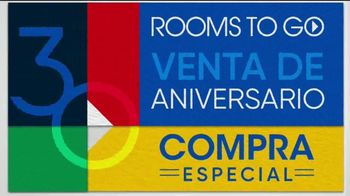 Rooms to Go Venta del 30 Aniversario TV Spot, 'Estupendos colchones' canción de Junior Senior [Spanish] - Thumbnail 6