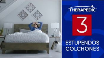 Rooms to Go Venta del 30 Aniversario TV Spot, 'Estupendos colchones' canción de Junior Senior [Spanish] - Thumbnail 3