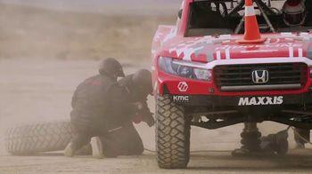 Maxxis Tires TV Spot, 'Honda Off-Road Runs RAZR MT' Song by Royal Deluxe - Thumbnail 4