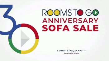 Rooms to Go 30th Anniversary Sofa Sale TV Spot, 'Endless: Priced to Sell' Song by Junior Senior - Thumbnail 10