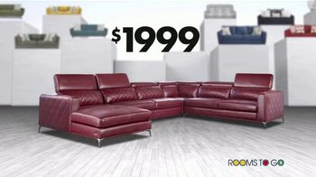 Rooms to Go 30th Anniversary Sofa Sale TV Spot, 'Endless: Priced to Sell' Song by Junior Senior - Thumbnail 9