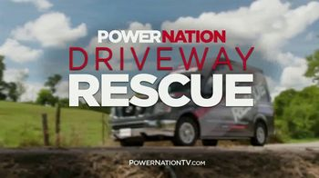 PowerNation TV Driveway Rescue TV Spot, 'Tell Us Your Story'