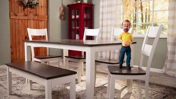 Bob's Discount Furniture TV Spot, 'Comedor Blake de siete piezas: $599 dólares' [Spanish] - Thumbnail 1