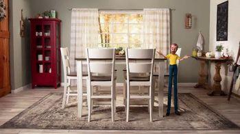 Bob's Discount Furniture TV Spot, 'Comedor Blake de siete piezas: $599 dólares' [Spanish] - Thumbnail 5