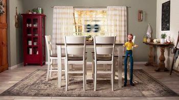 Bob's Discount Furniture TV Spot, 'Comedor Blake de siete piezas: $599 dólares' [Spanish] - Thumbnail 6
