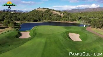 Paako Ridge Golf Club TV Spot, 'Immaculate Playing Conditions' - Thumbnail 4