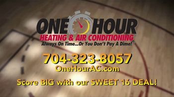One Hour Heating & Air Conditioning Sweet 16 Deal TV Spot, '16 Seer A/C Unit' - Thumbnail 5