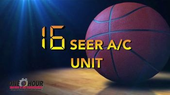 One Hour Heating & Air Conditioning Sweet 16 Deal TV Spot, '16 Seer A/C Unit' - Thumbnail 2