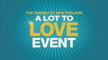 Subaru A Lot to Love Event TV Spot, 'So Much to Love: All-Wheel Drive' [T2] - Thumbnail 2
