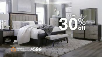 Ashley HomeStore Anniversary Sale TV Spot, '30% Off and 60 Months No Interest' - Thumbnail 5