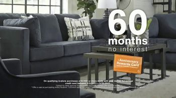 Ashley HomeStore Anniversary Sale TV Spot, '30% Off and 60 Months No Interest' - Thumbnail 8