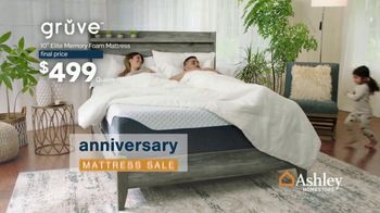 Ashley HomeStore Anniversary Mattress Sale TV Spot, '50% Off Ashley-Sleep' - Thumbnail 2
