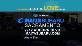 Subaru A Lot to Love Event TV Spot, 'The Underdogs: Heartstrings' [T2] - Thumbnail 7
