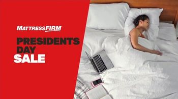 Mattress Firm Presidents Day Sale TV Spot, 'Ends Soon: Save up to $500' - Thumbnail 1