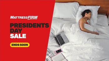 Mattress Firm Presidents Day Sale TV Spot, 'Ends Soon: Save up to $500' - Thumbnail 2