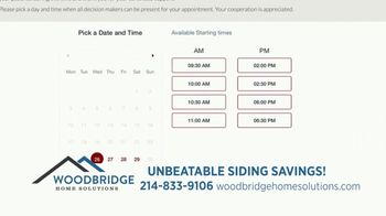 Woodbridge Home Solutions TV Spot, 'New Signing: Online Appointments' - Thumbnail 5