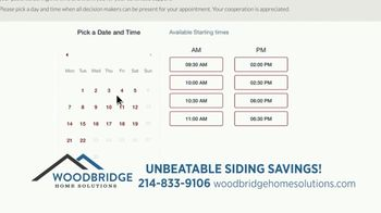 Woodbridge Home Solutions TV Spot, 'New Signing: Online Appointments' - Thumbnail 6