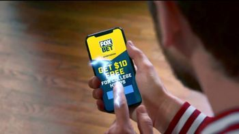 FOX Bet Sportsbook App TV Spot, 'Bring the Boom: $10 Free'
