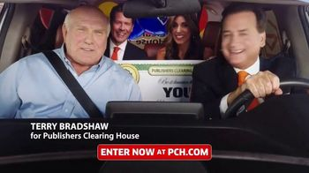 Publishers Clearing House TV Spot, 'Real People: Win $7,000 a Week' Featuring Terry Bradshaw - 1863 commercial airings