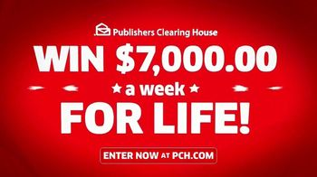 Publishers Clearing House TV Spot, 'Real People: Win $7,000 a Week' Featuring Terry Bradshaw - Thumbnail 7