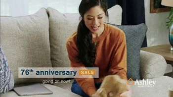 Ashley HomeStore 76th Anniversary Sale TV Spot, '$1,000 Off Storewide' - Thumbnail 3