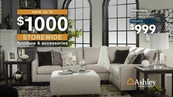 Ashley HomeStore 76th Anniversary Sale TV Spot, '$1,000 Off Storewide' - Thumbnail 4