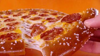 Little Caesars Salted Soft Pretzel Pizza TV Spot, 'You Don't Know' - Thumbnail 3
