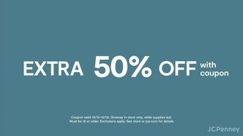JCPenney Mystery Sale TV Spot, 'Back for Fall: Up to 50% Off' - Thumbnail 6