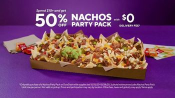 DoorDash TV Spot, 'Taco Bell: 50% off Nachos Party Pack' - Thumbnail 8