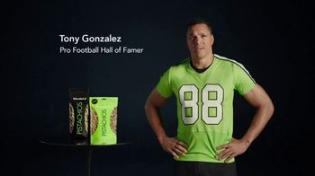 Wonderful Pistachios TV Spot, 'Mascot' Featuring Tony Gonzalez - Thumbnail 1