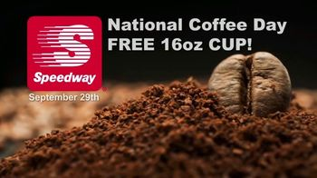 Speedway TV Spot, 'National Coffee Day: Free 16oz Cup'
