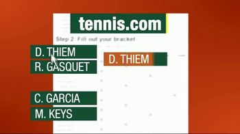 Tennis.com TV Spot, 'Racquet Bracket: Roland Garros' - Thumbnail 4