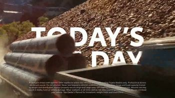 Toyota Today's the Day Event TV Spot, 'Invincible' Song by Aloe Blacc [T2]