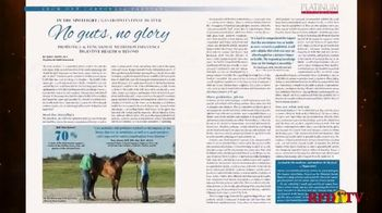National Reining Horse Association Reiner Magazine TV Spot, 'Industry News' - Thumbnail 5